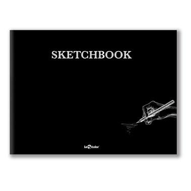 Le Color Sketchbook Düz Defter 20x27 Cm Beyaz 96 Sayfa Renkli